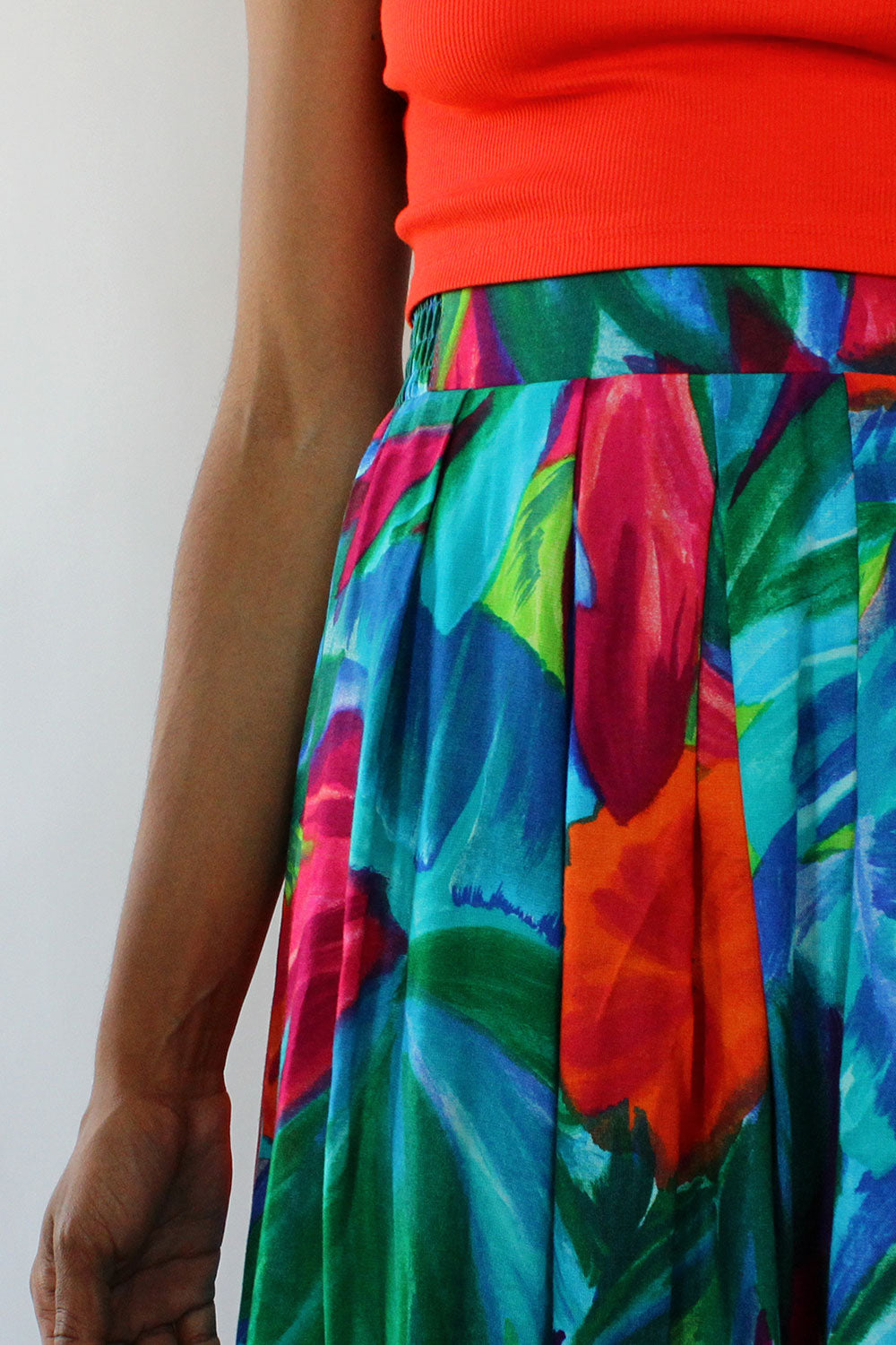 Tropical Jewel Skirt M/L