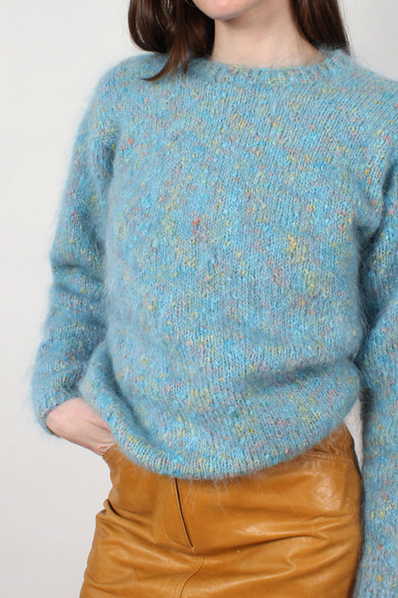 Speckled Mohair Sweater S-L