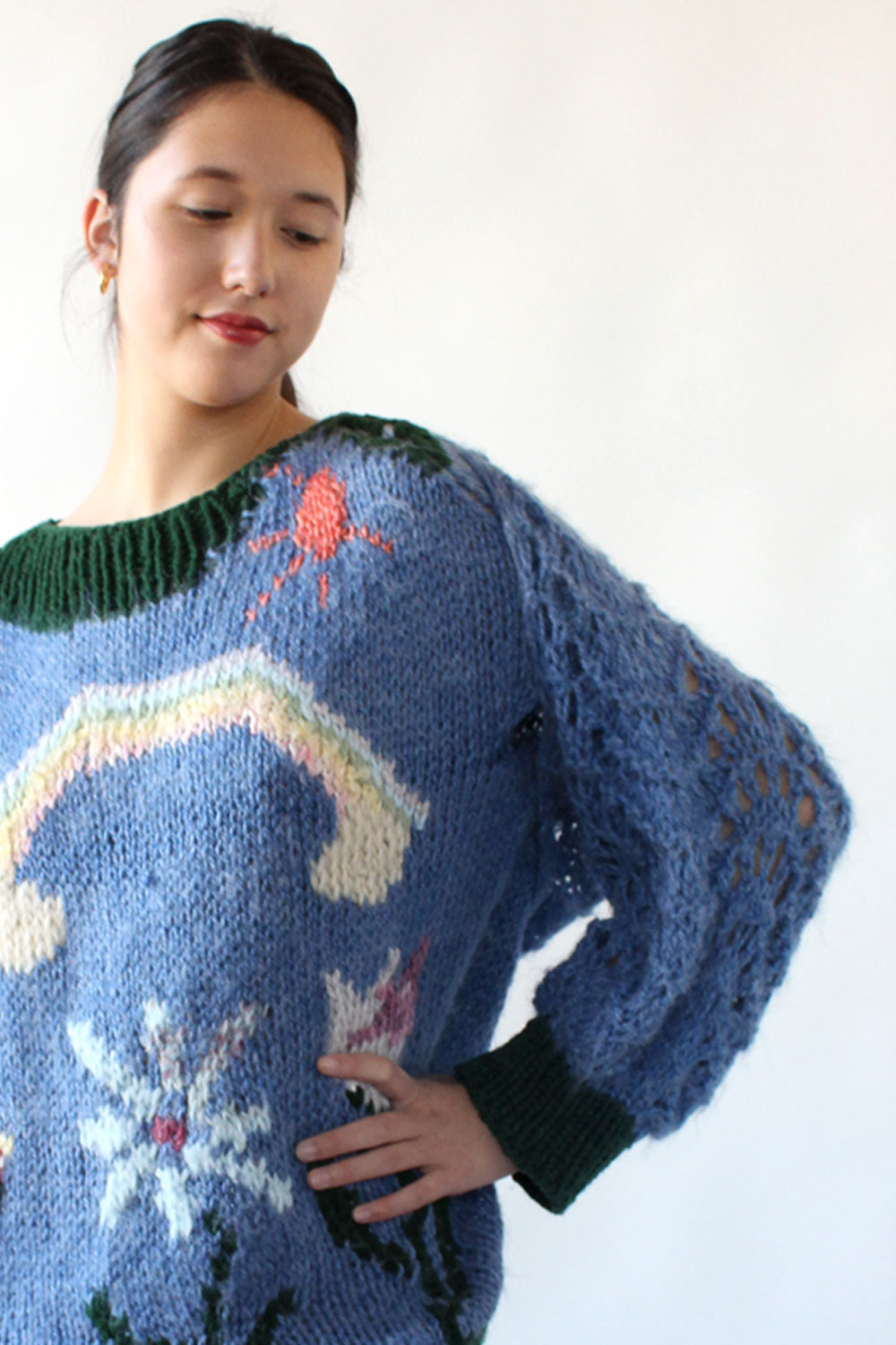 Sunshine Rainbow Sweater w/ Shrug S-L