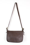 brown leather coach bag