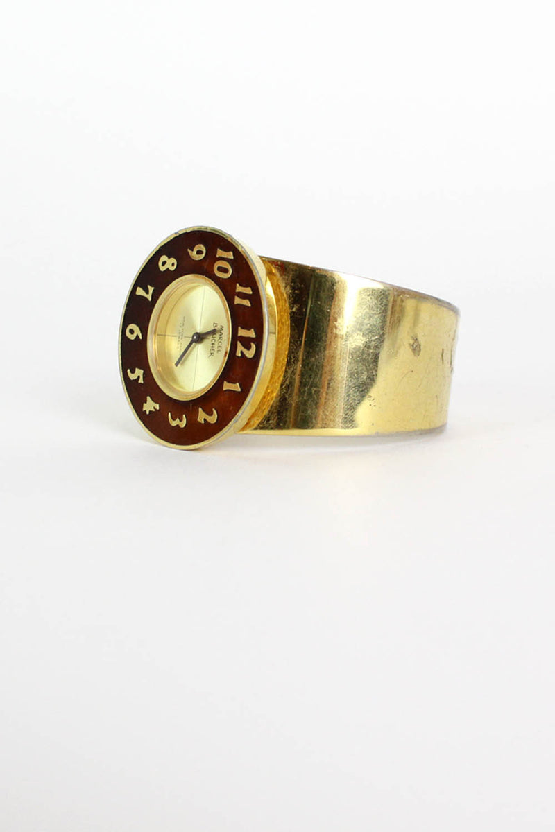 Marcel Boucher 1960s Cuff Watch
