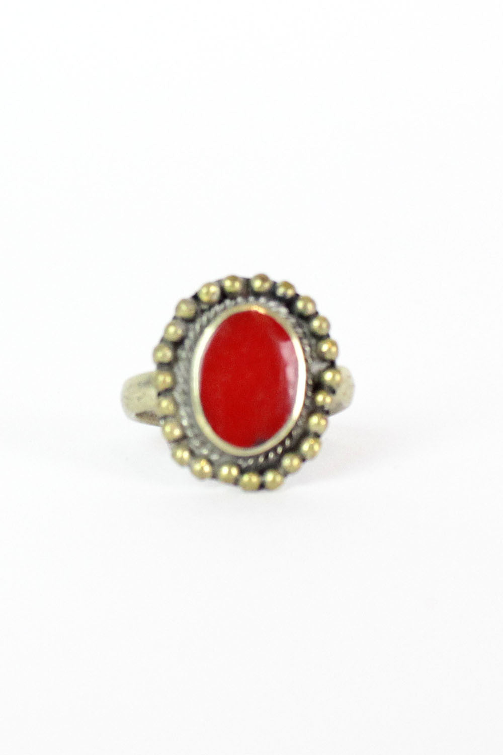 Crimson Tribal Ring