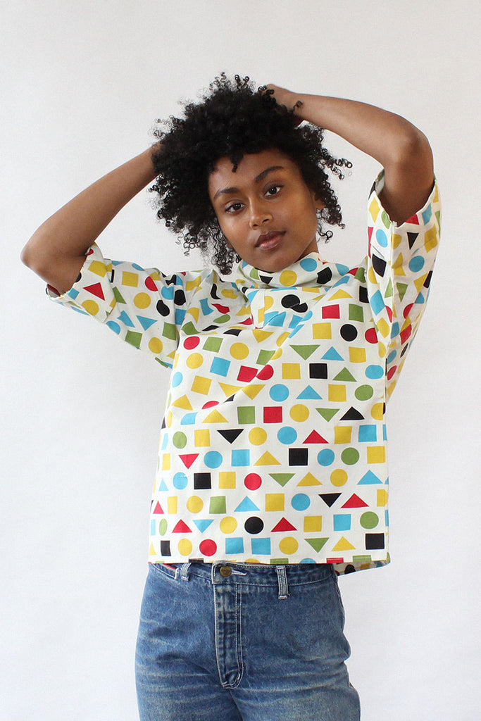 Elementary Boxy Top S/M