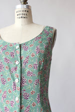 Sage Lavender Tea Dress L