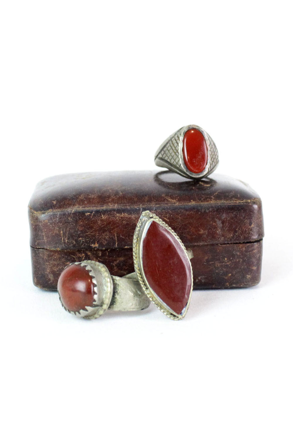 Carnelian Point Ring