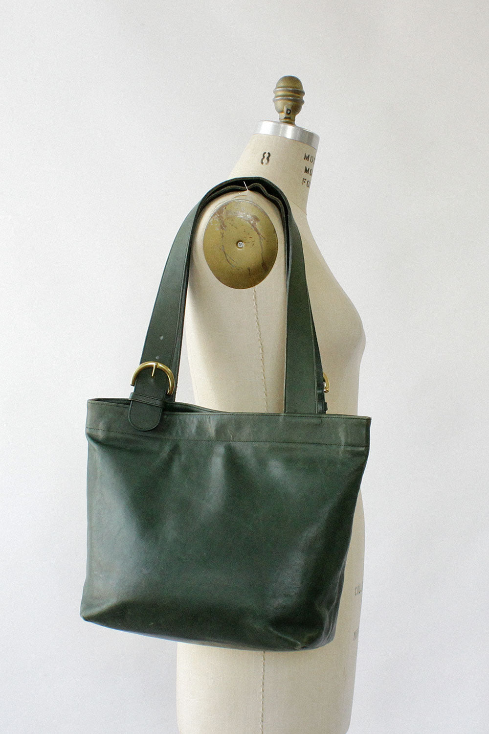 Coach Ivy Green Leather Tote