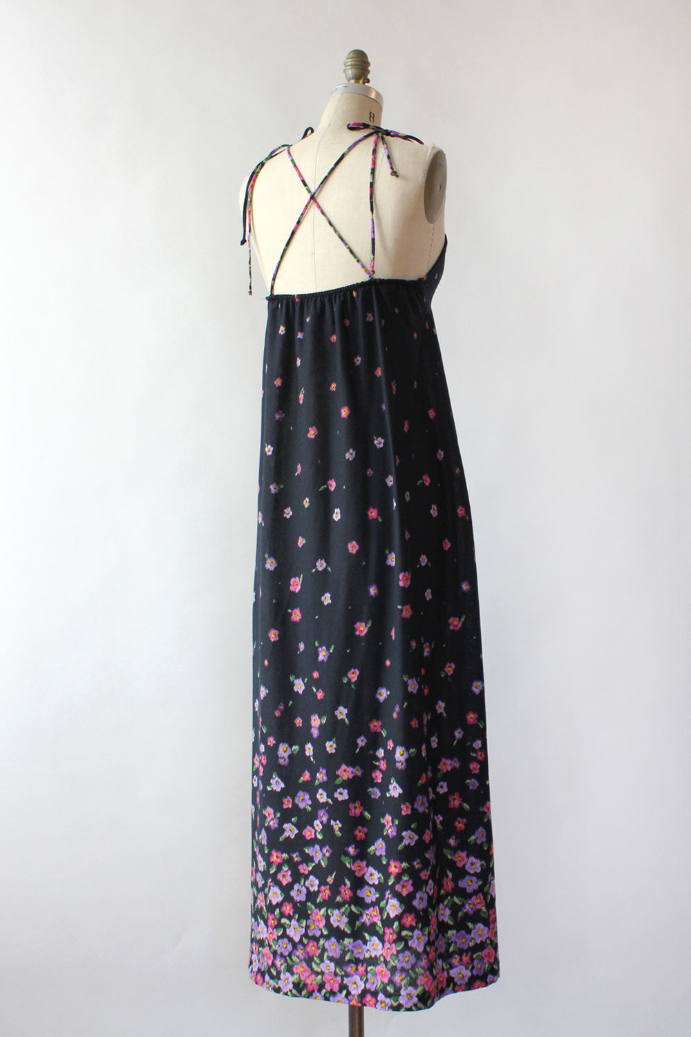 Elaine Knit Strappy Maxi Dress S-L