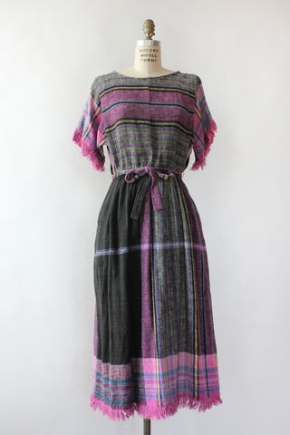 Rainbow Chevron Maxi Dress S/M