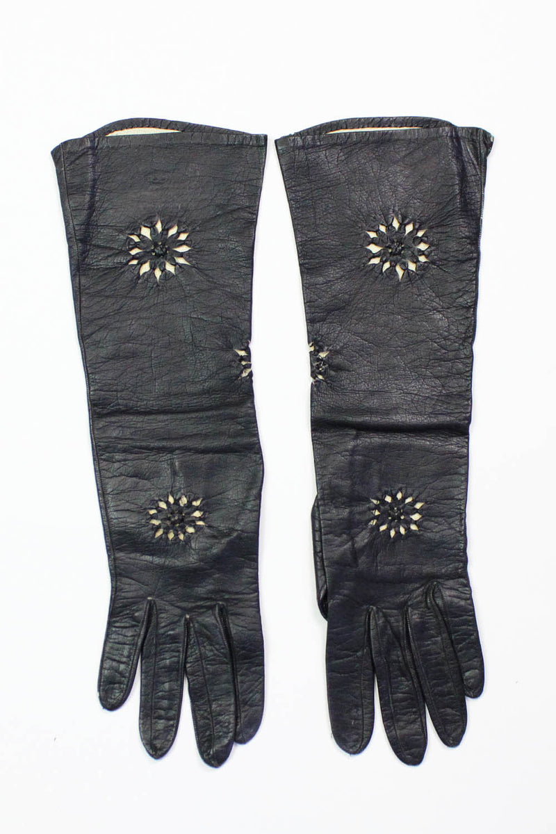French Kidskin Cutout Gloves