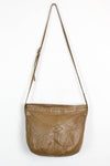 tan leather crossbody purse