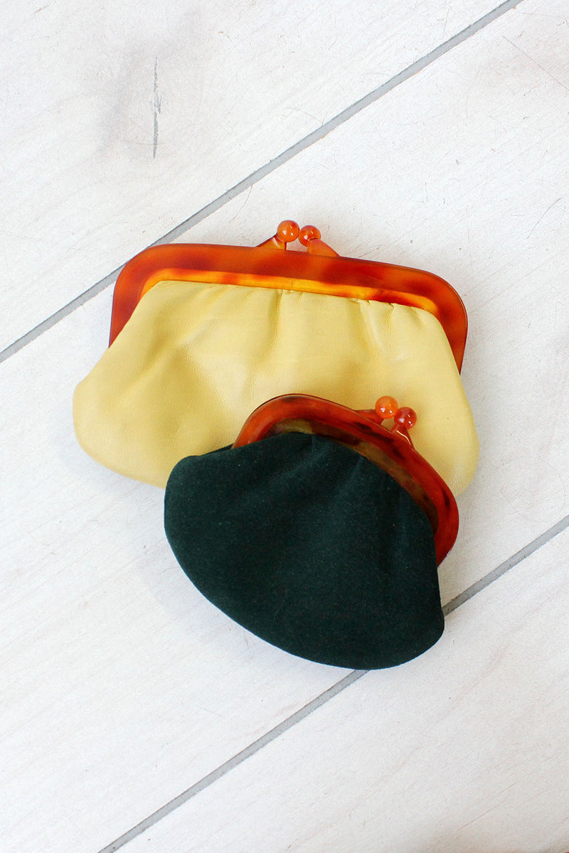 Mini Hunter Suede Pouch