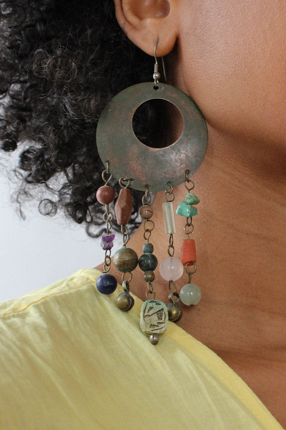 Patina Collage Earrings
