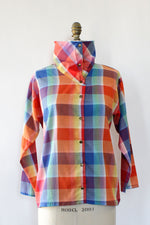 Rainbow Snap Top S/M