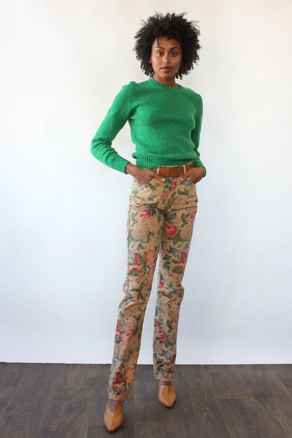 Ralph Lauren Tea Rose Pants S