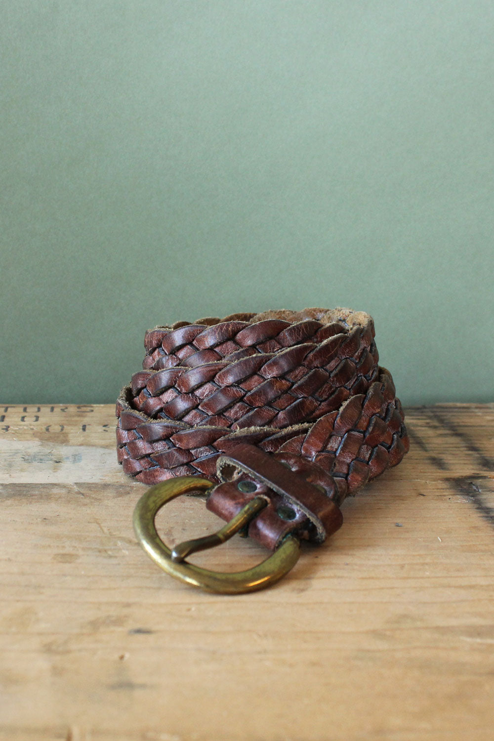 Sienna Braided Leather Belt