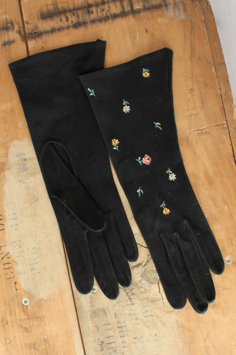 Three Pairs Leather Gloves S