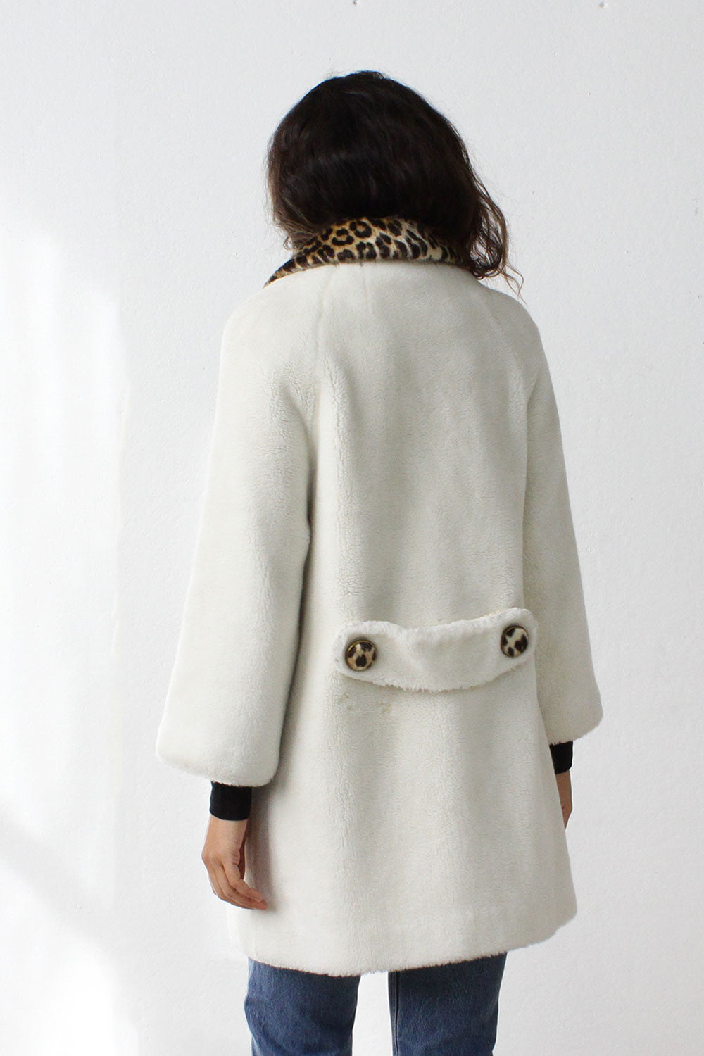 Polar Bear Faux Fur Coat S/M