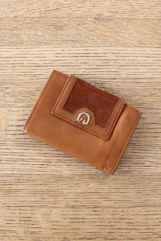 Burnt Orange Leather Wallet