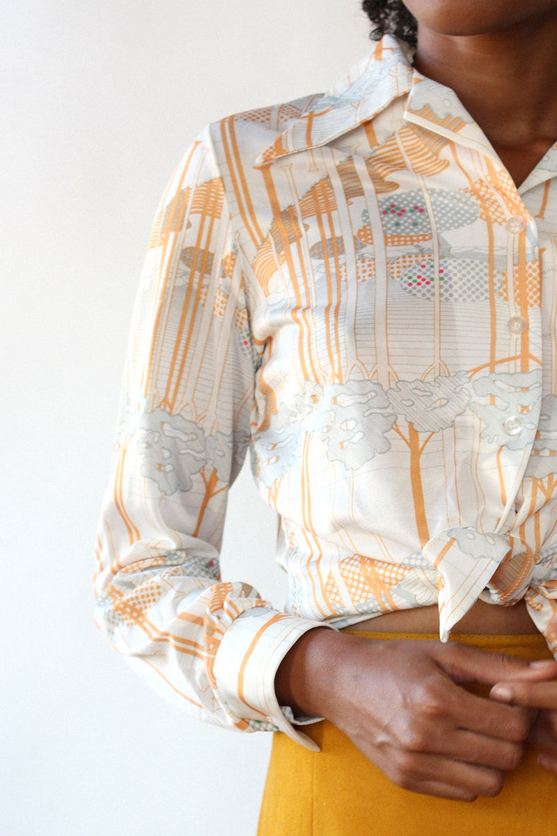 Novelty Trees Buttondown S/M