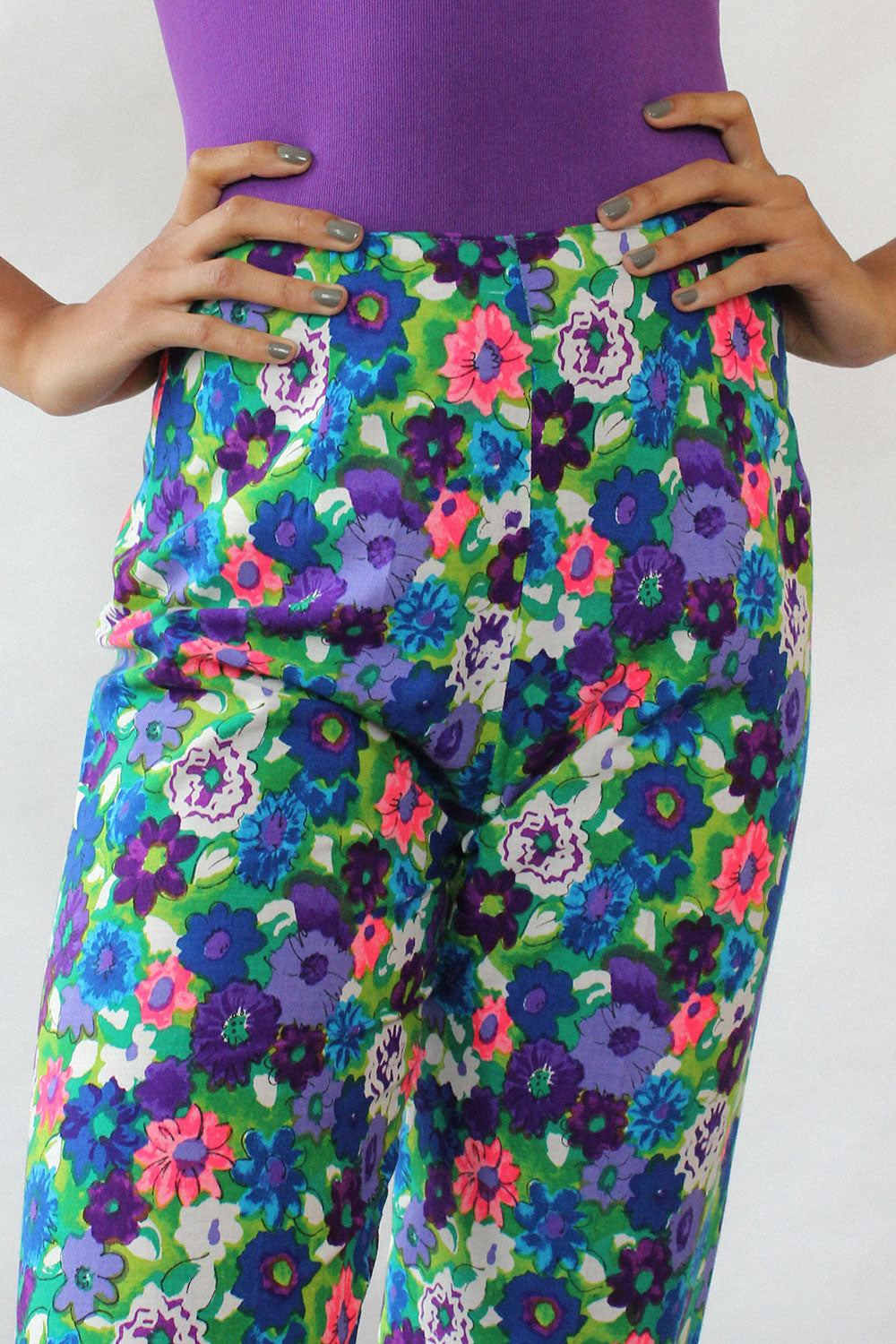 Joy Floral Cigarette Pants XS/S