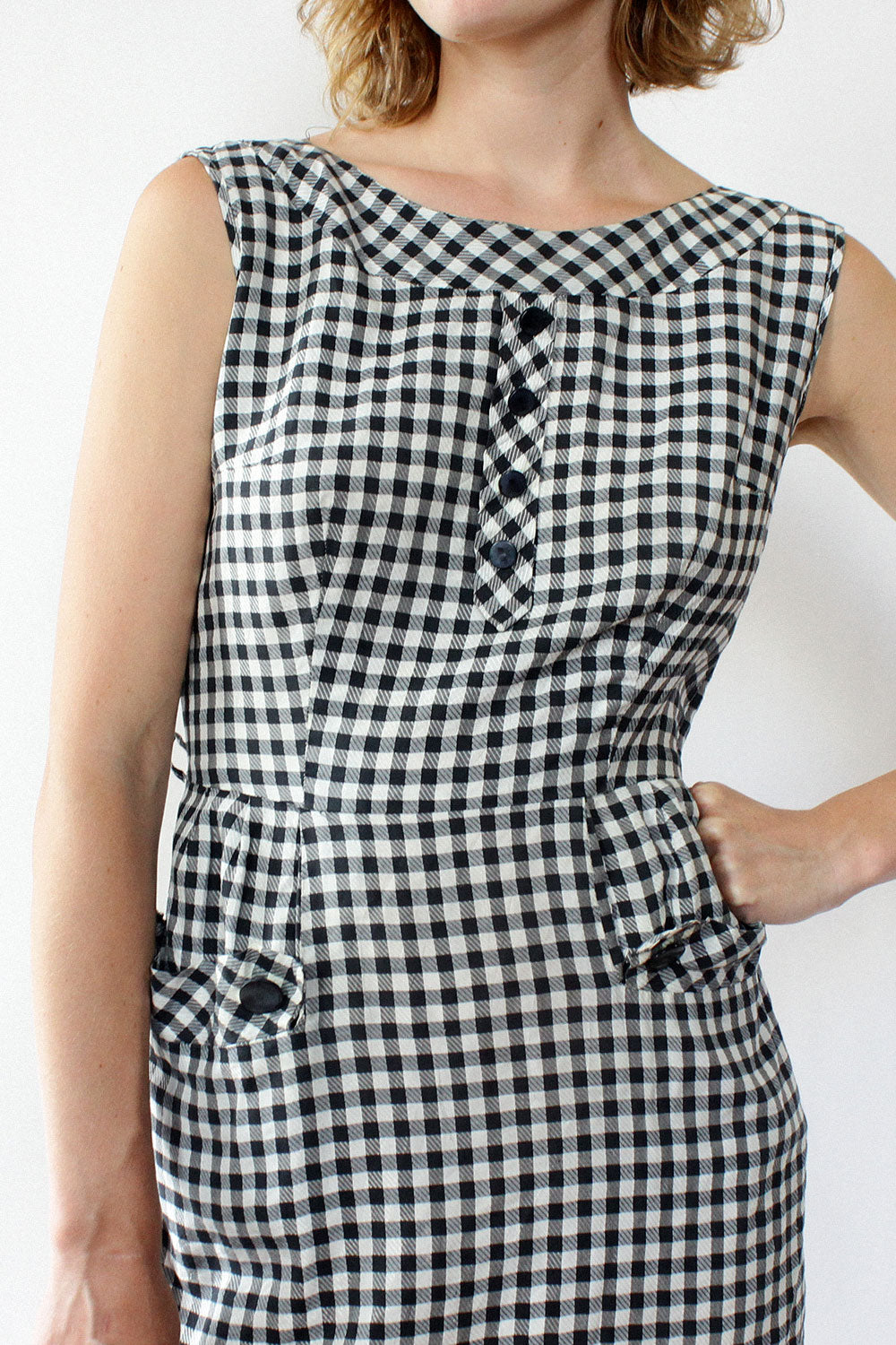 Greta Gingham Dress M