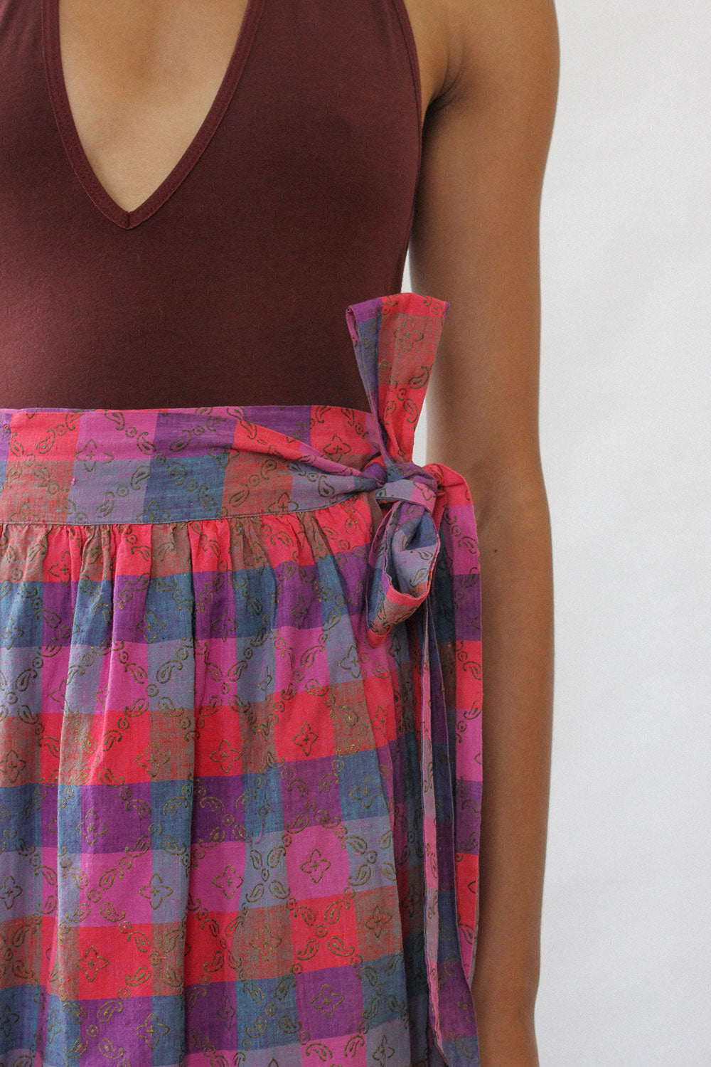Indian Cotton Jewel Skirt XS/S