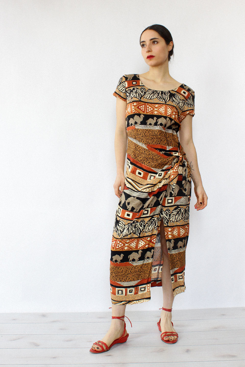 Camel Swag Dress S