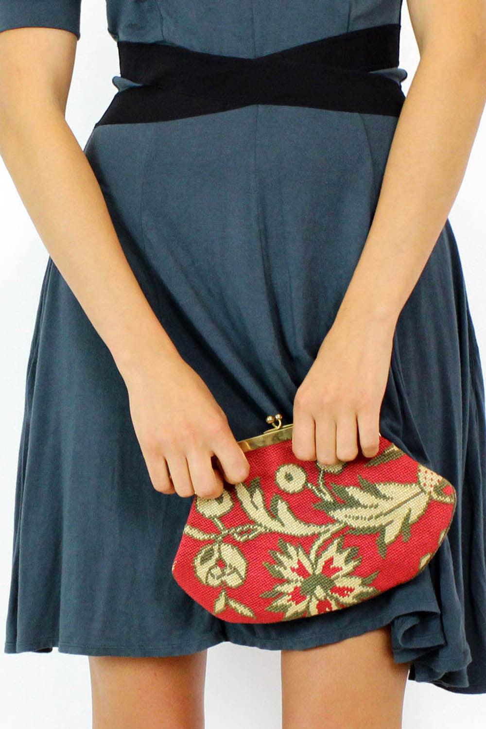 french vintage clutch