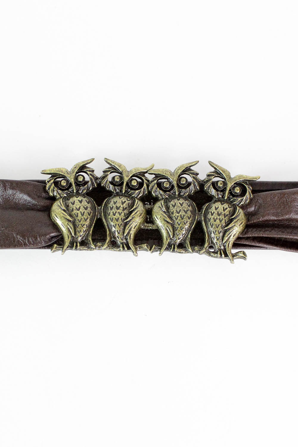 Owl Clan Leather Belt