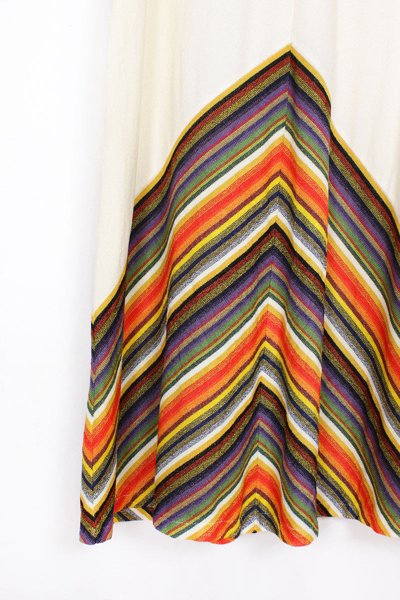 70s Rainbow Source Dress