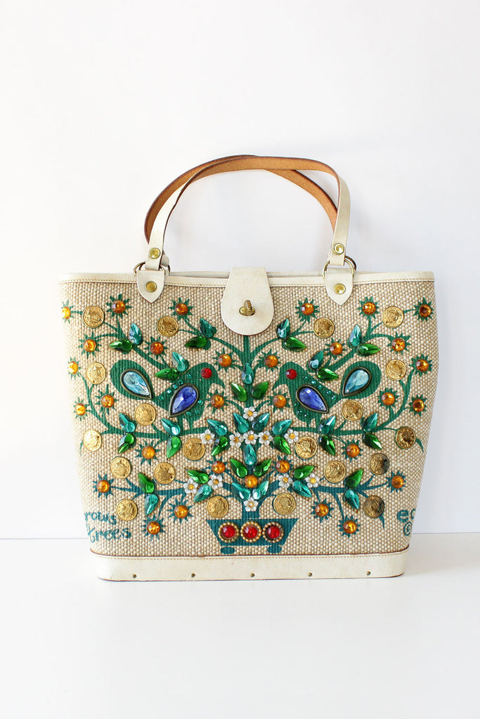 Enid Collins Money Tree Bag