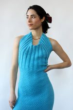 Mermaid Tail Knit Dress XS-M