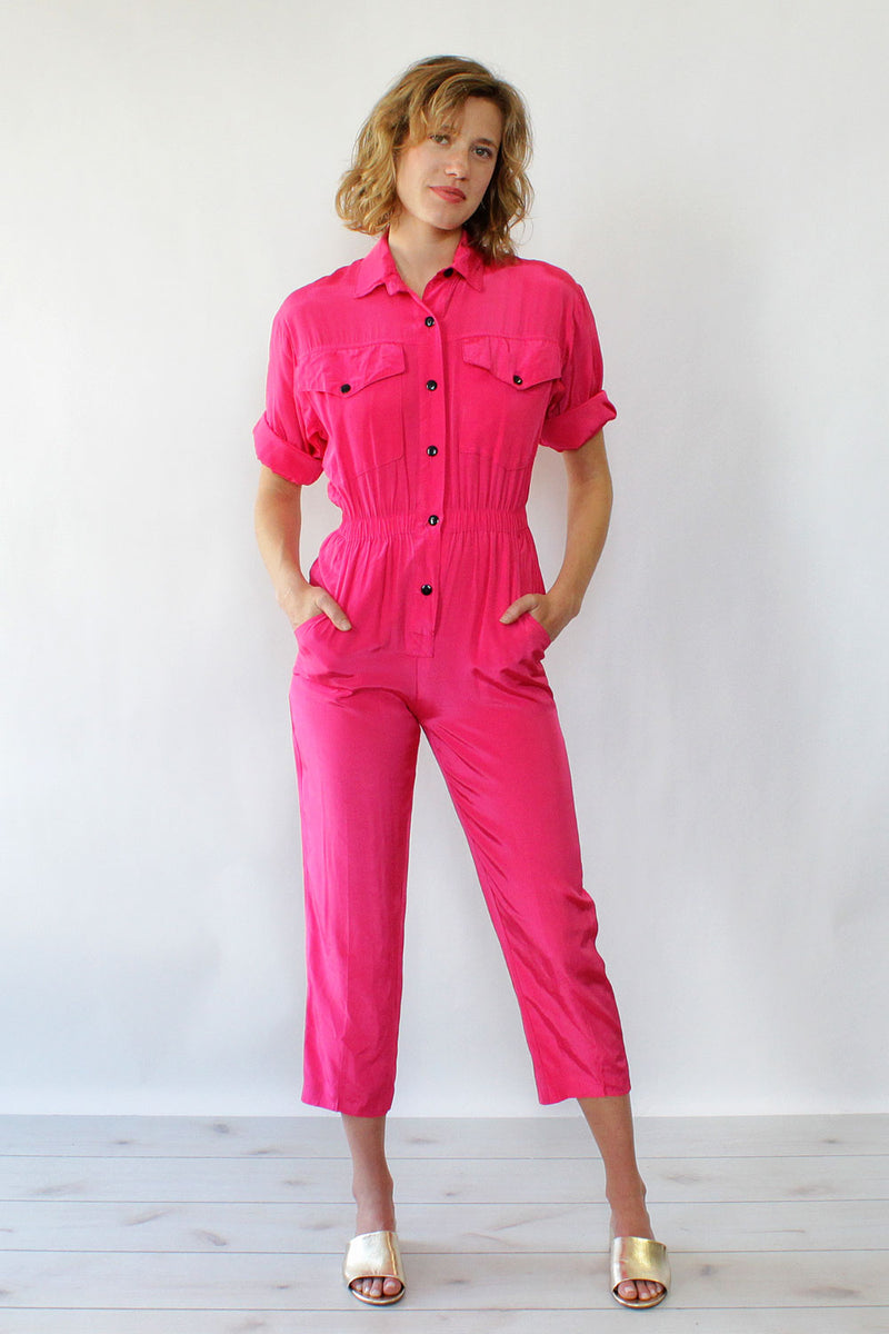 Hot Pink Dreams Jumpsuit XS/S