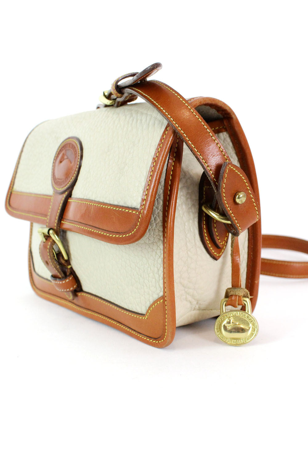 Dooney & Bourke Two Tone Crossbody Bag