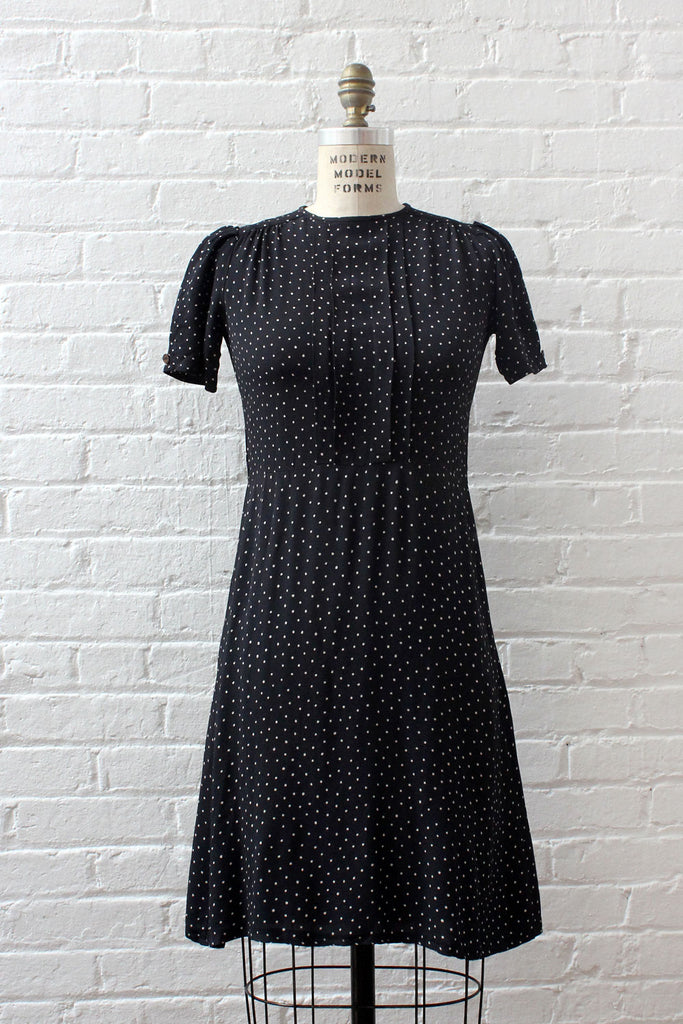 Swiss Dot Day Dress XS/S