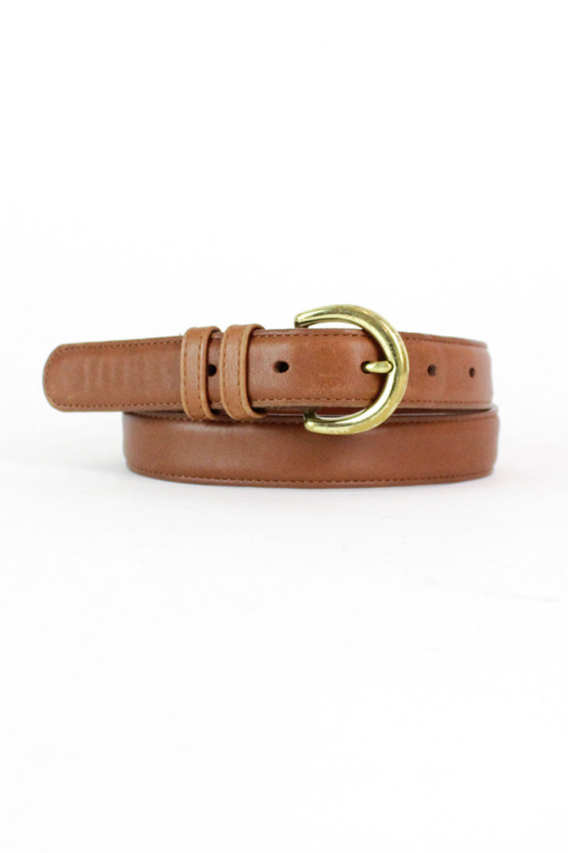 Coach Chestnut Belt S/M