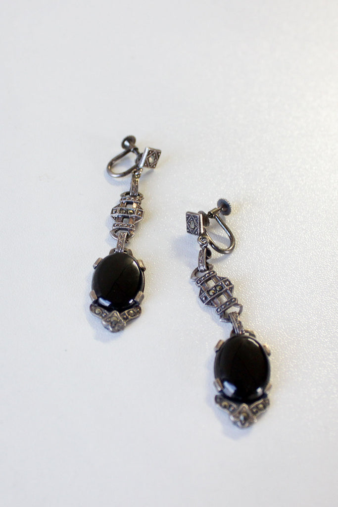 Marcasite Sterling Dangles