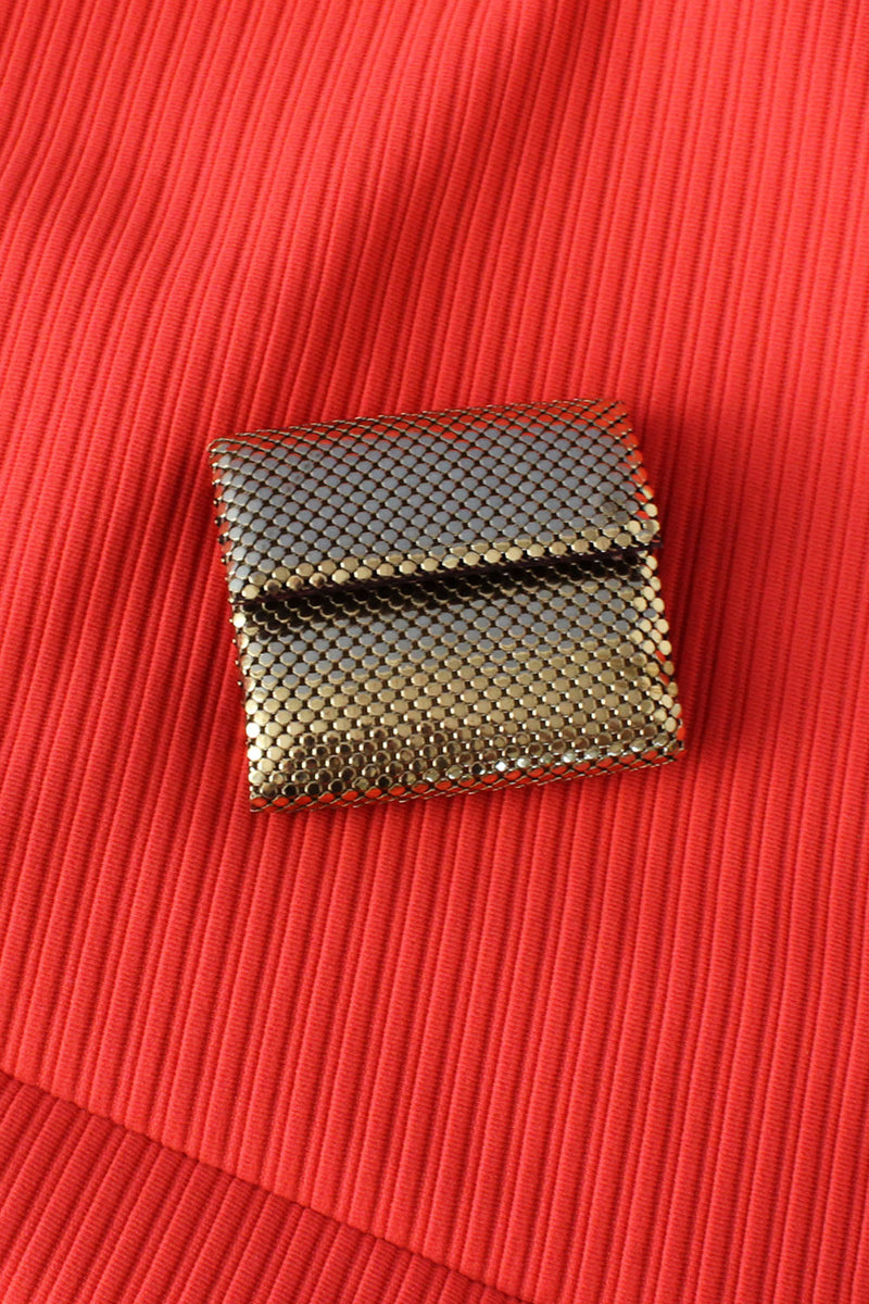 Golden Mesh Metal Wallet