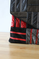 All Sewn Up Patchwork Clutch