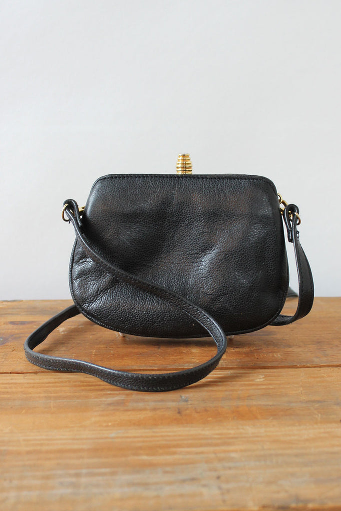 Giorgio Mini Navy Crossbody Bag