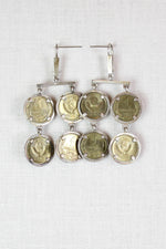 70s Russian Coin Earrings