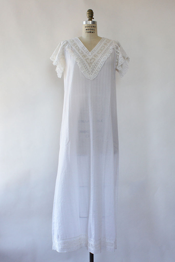 Airy Crochet Maxi Dress
