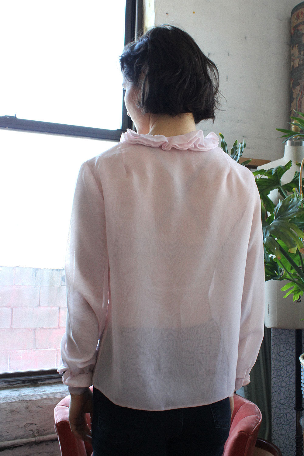 Cotton Candy Sheer Top S/M