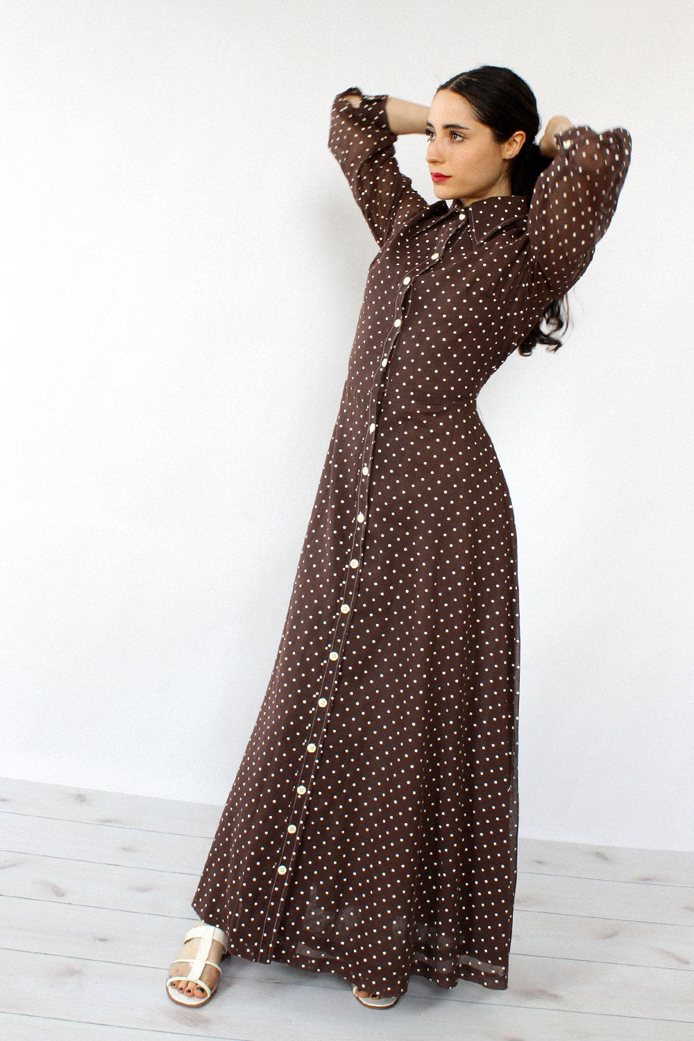 Avalon Polka Dot Maxi S/M