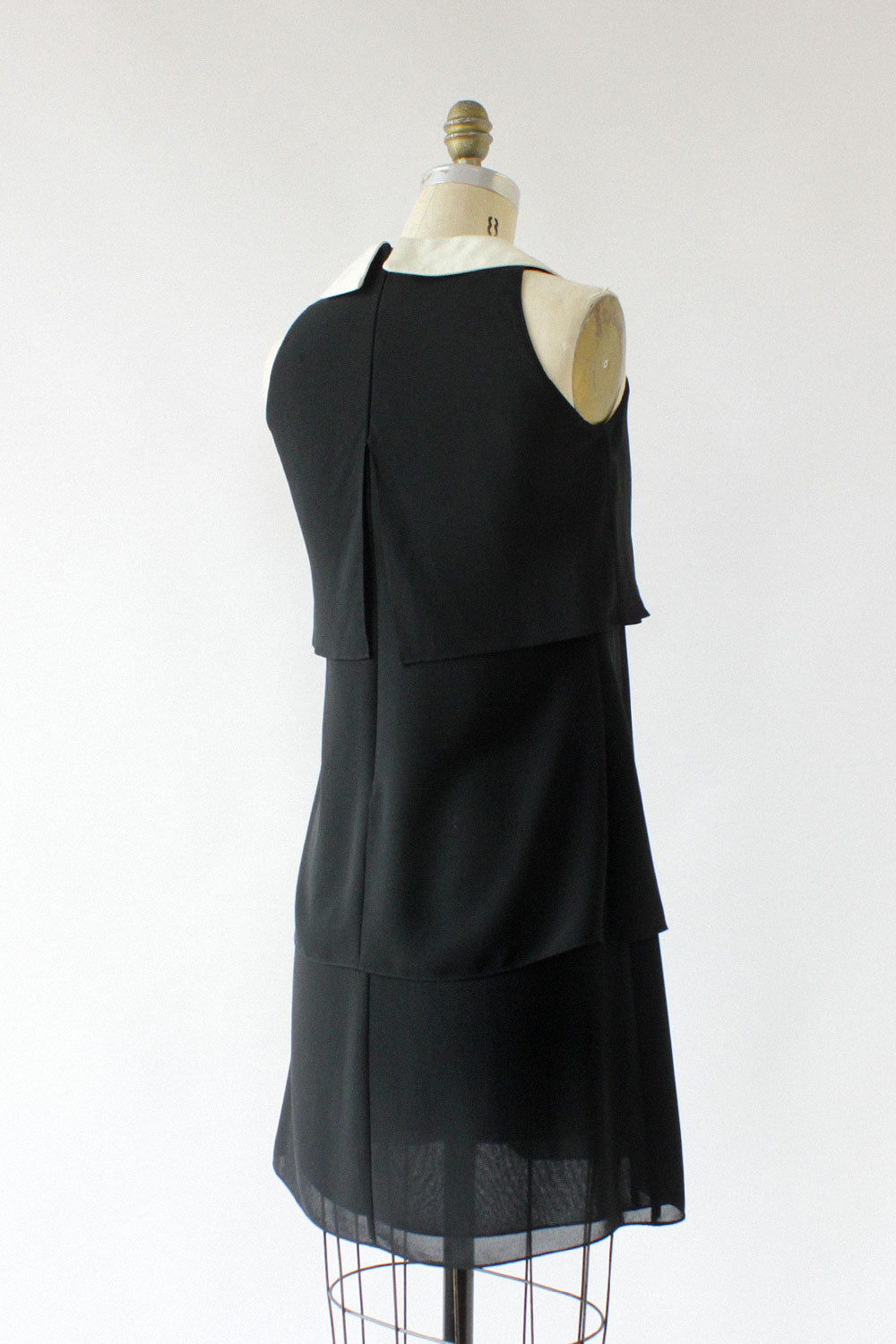 Bergdorf Tiered Collar Dress XS/S