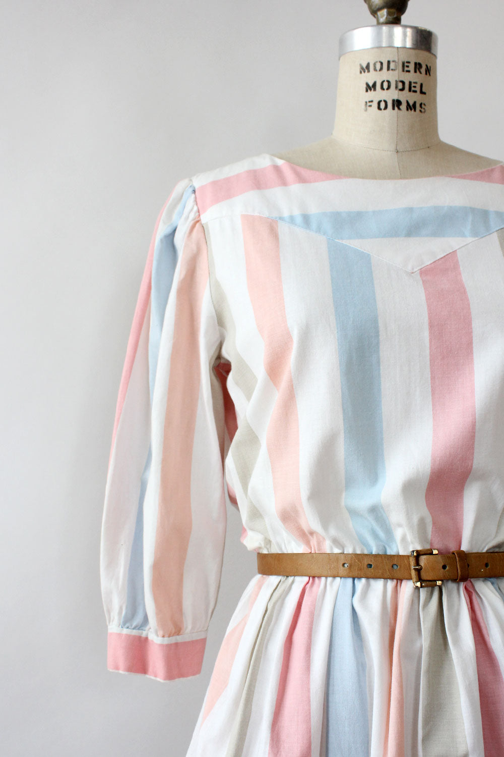 Neapolitan Stripe Cotton Dress M/L