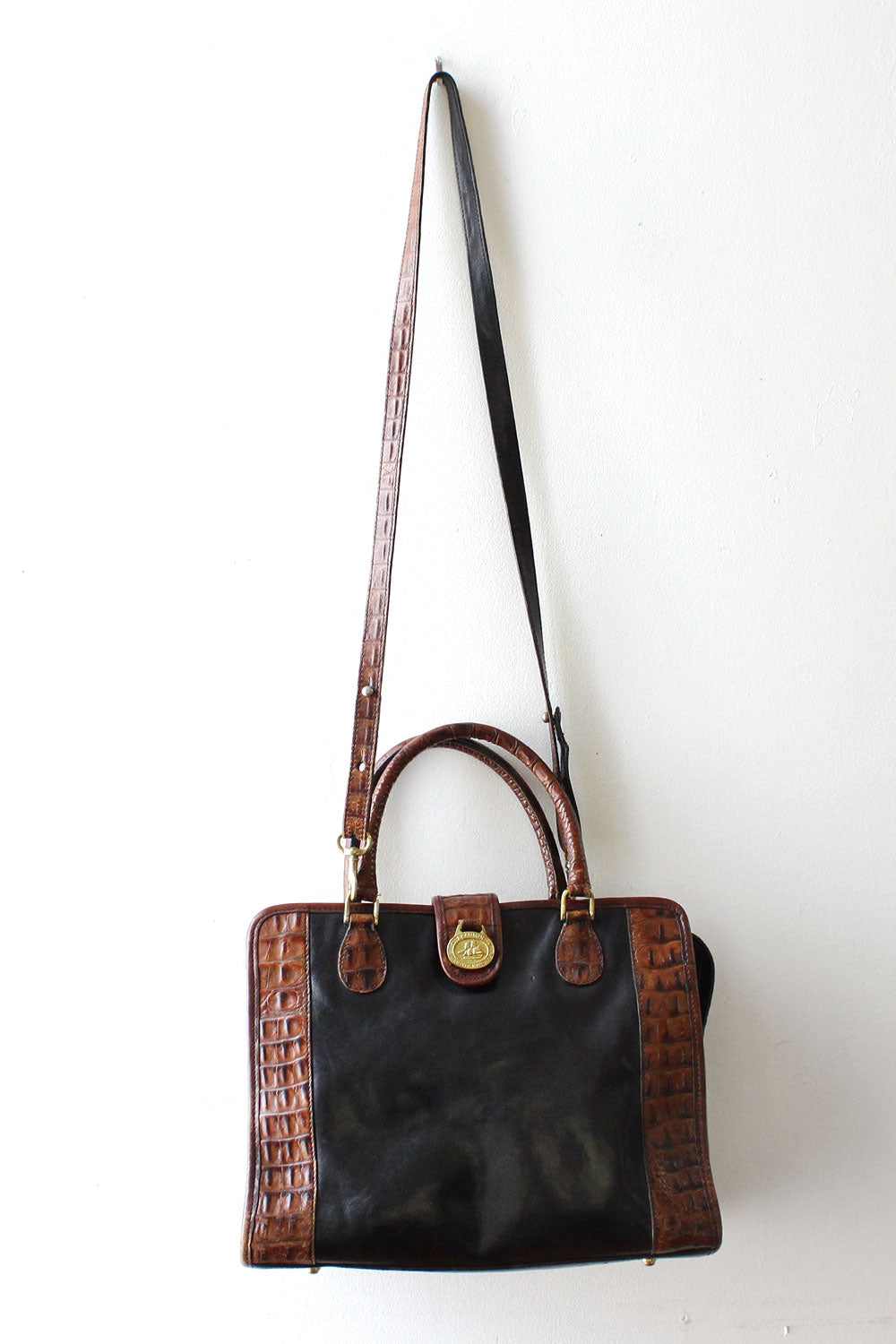 Brahmin Two Tone Satchel