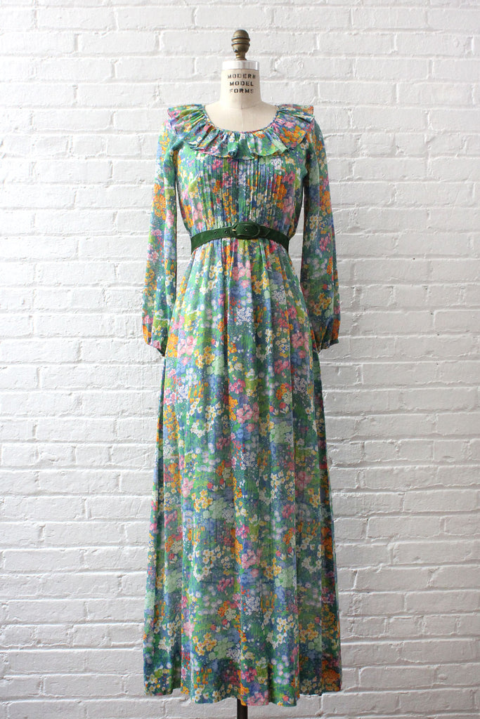 English Garden Sheer Dress XS-M