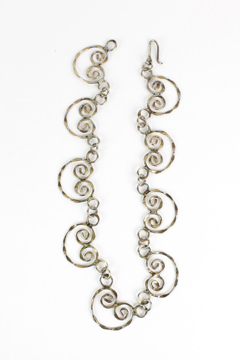 Whimsical Curl Necklace