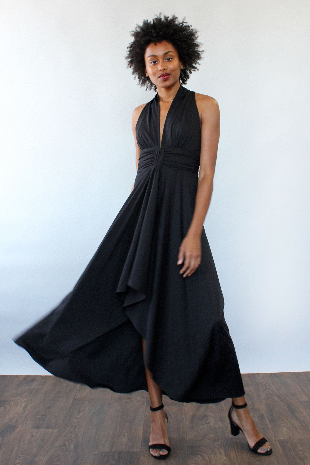 Donna Drape Dress M